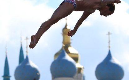 Водные виды: почему хайдайвер Сильченко никогда не прыгает с «тарзанки»?