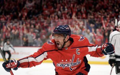 Овечкин cнова лучший снайпер НХЛ! Александр Великий выстрелил хет-триком запять минут