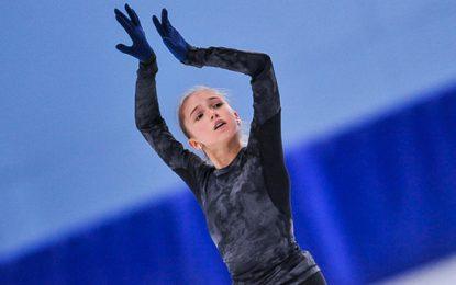 13-летняя российская фигуристка Камила Валиева задала риторический вопрос американке