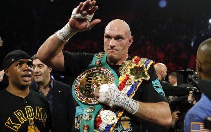 «Давай сделаем это». Чемпион UFC иДжошуа вызывают Фьюри набой